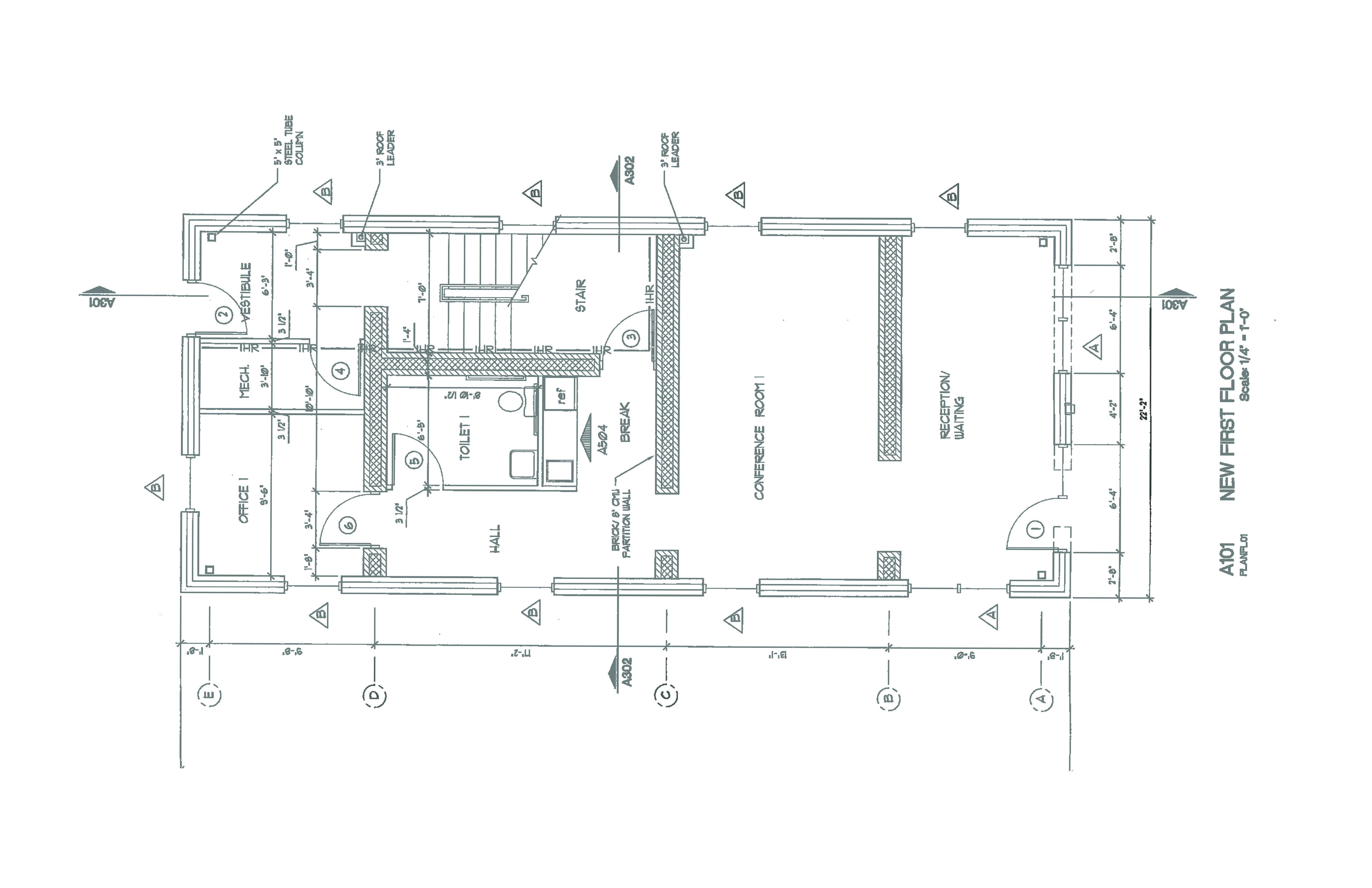 Floor Plan - 219 S. Water Street